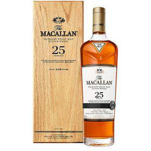 The Macallan 25 Year Scotch