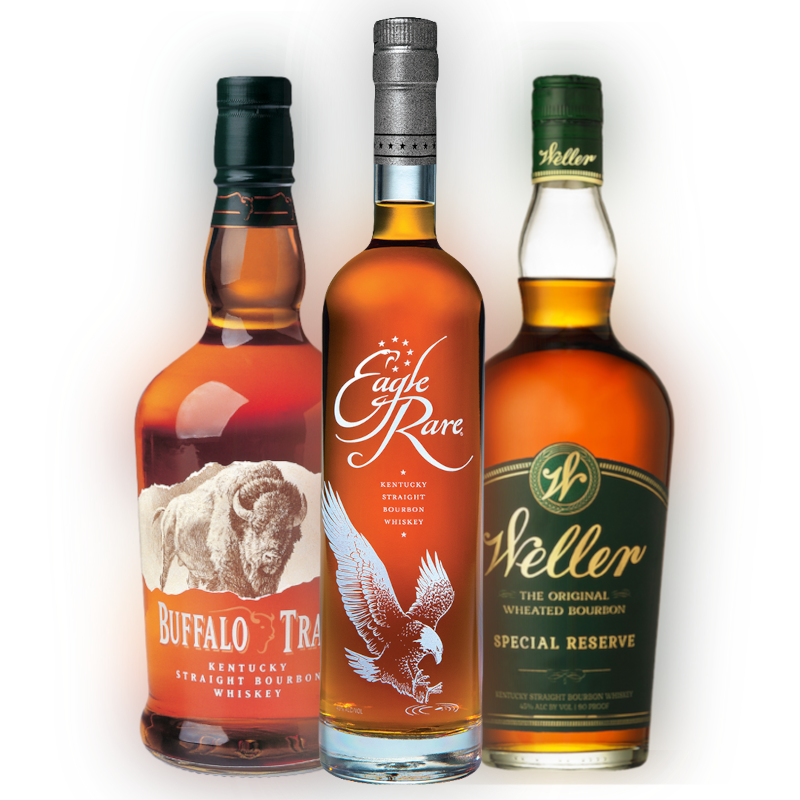 Buffalo Trace 1L, Weller Special Reserve 1L & Eagle Rare Bottle Combo