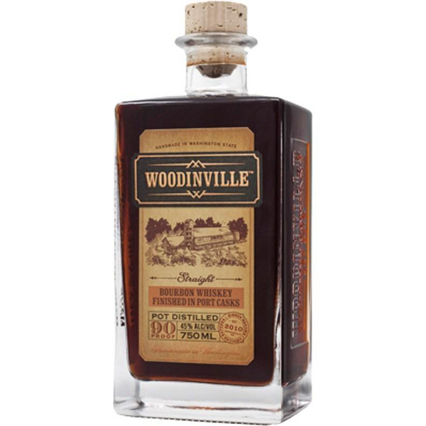 Woodinville Bourbon Whiskey Finished in Port Casks