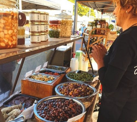 Byron Bay Olive Co. at the markets