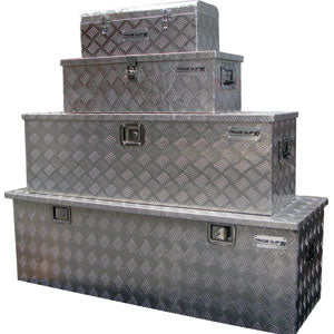Proequip ALUMINIUM UTE TOOLBOXES (SET OF 4)