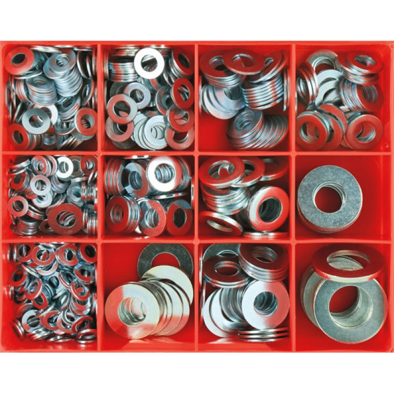 Champion 695Pc Flat Steel Washer Assortment