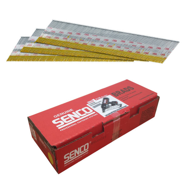 Senco 15G DA25 65mm Angled Galvanised Brads 3000 Pack