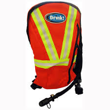 DRINK! HI-VIS ORANGE HYDRATION BACKPACK 3L
