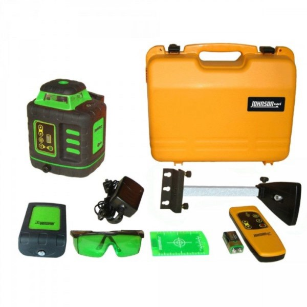 Johnson Automatic Self Levelling Greenbrite Rotating Laser