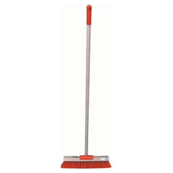 Raven Broom Yard Platform Hi-Vis Orange C/W Handle 460mm
