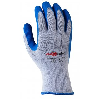 Maxisafe Blue Polycotton Glove - Size XL