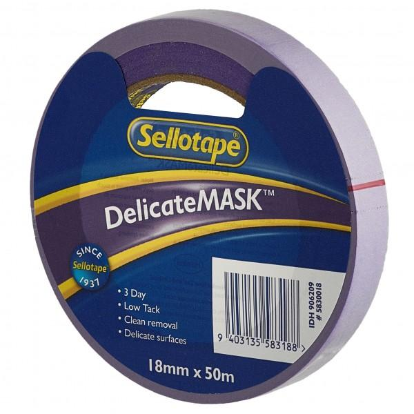 Sellotape Delicatemask 18mmx50m x 8