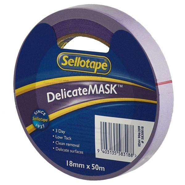 Sellotape Delicatemask 24mmx50m x 6