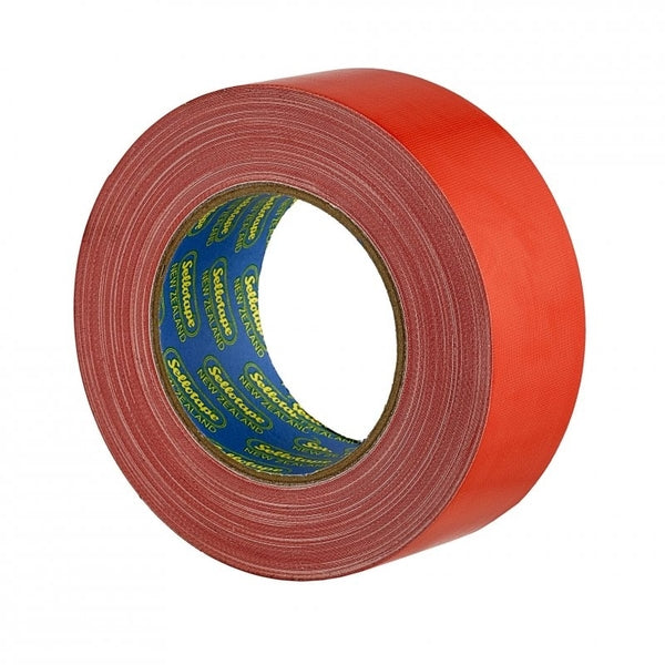 Sellotape Cloth Tape Red 48mmx30m x 3