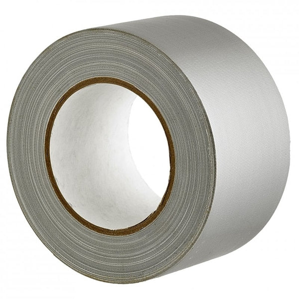 Sellotape Cloth Tape Silver 72mmx30m x 2