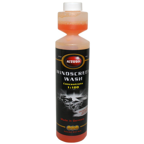 Autosol Windscreen Wash 250ml Bottle