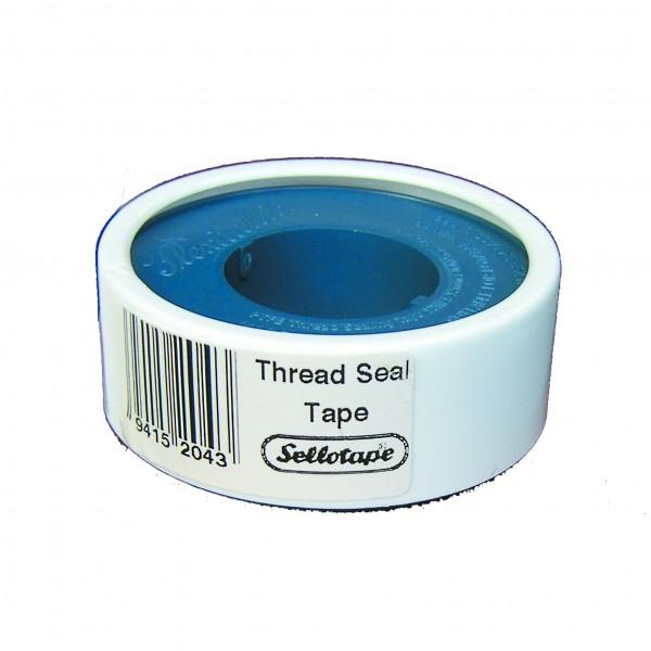 Sellotape 75 Micron Thread Seal Tape 20 Rolls