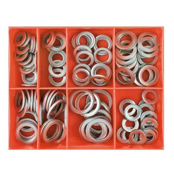 Champion 100Pc Mm/Imp Aluminium Sump Plug Washer Assortment