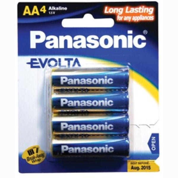 Panasonic Aaa Battery Evolta Alkaline (4Pk)