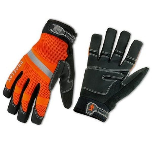 Proflex Gloves Hi Vis General Duty Mesh XL