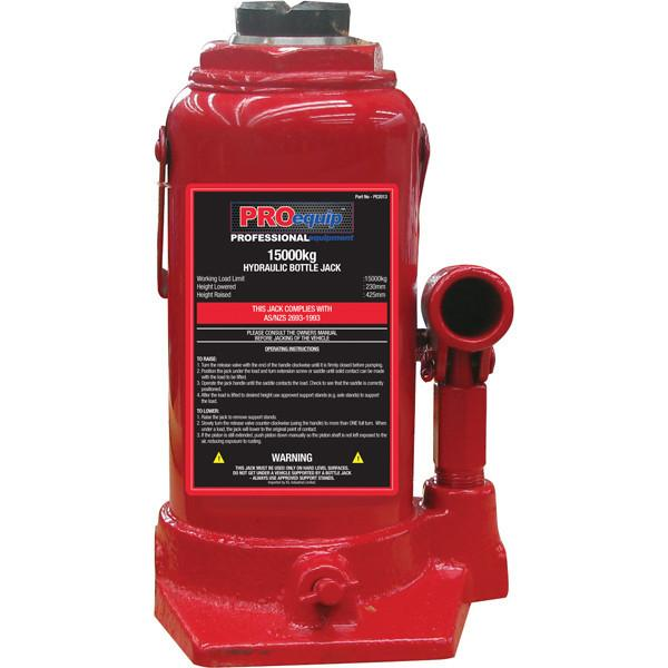 PROequip 15000Kg Standard Bottle Jack (As/NZs)