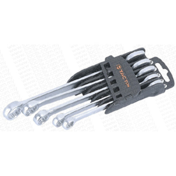 Tactix 5Pc Combination Spanner Set - Sae