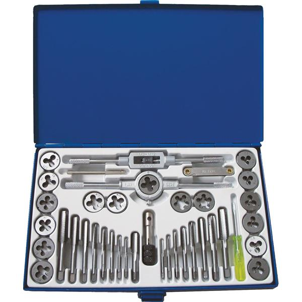 PROequip 39Pc Compact Tap And Die Set (Metric & Sae)