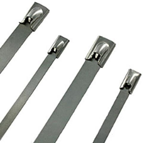 500 x 4.6mm 316 Stainless Cable Tie - 20Pk