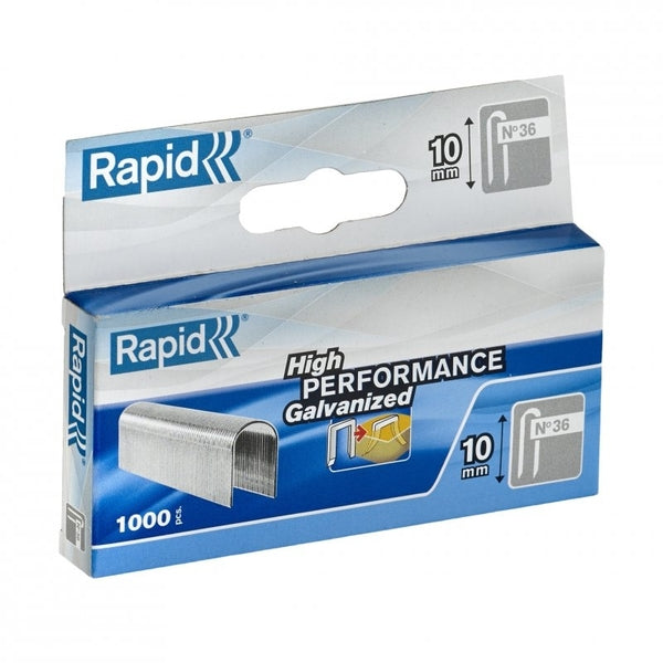 Rapid Staples 36/10 Mini 1000pcs