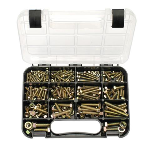 GJ Grab Kit 236Pc Metric Bolts & Nuts (Gr. 8.8)