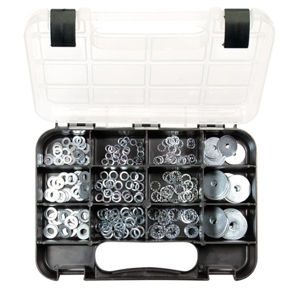 GJ Grab Kit 255Pc Assorted Washers Imperial