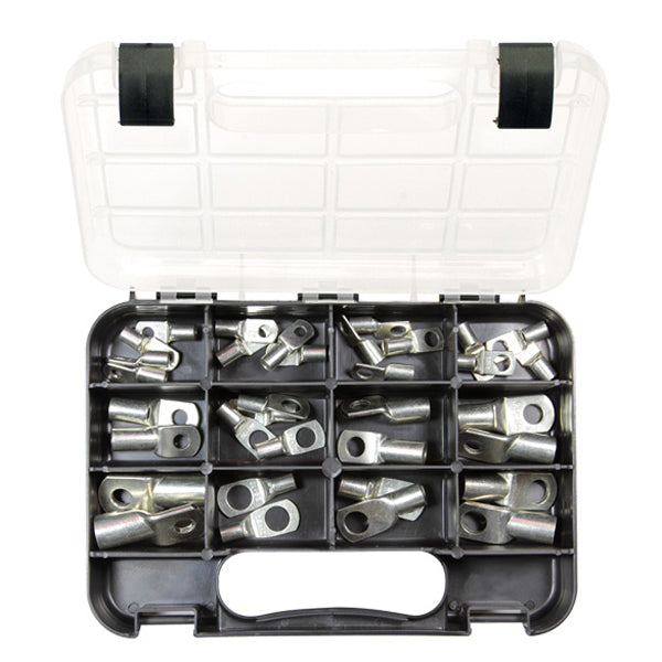 GJ Grab Kit 34Pc Metal Cable Lugs