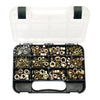 GJ Grab Kit 508Pc Hex Nuts Unf/Unc-Gr5