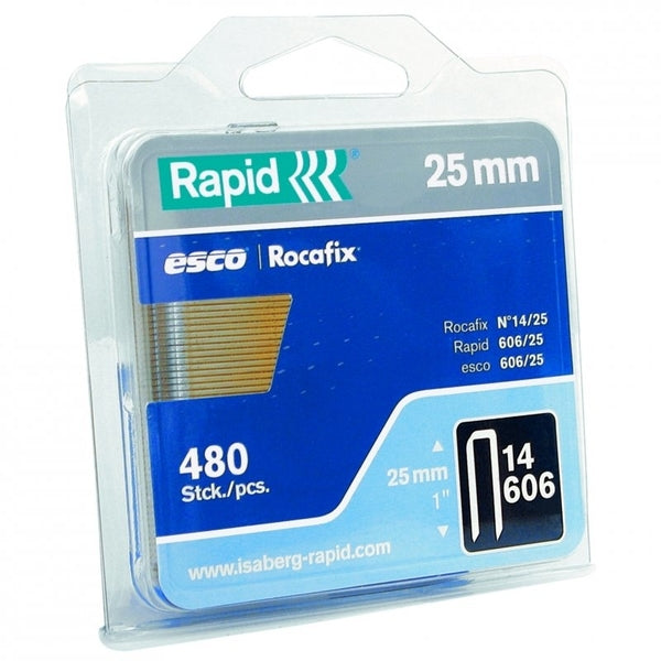 Rapid Staples 606/25 Mini 480pcs