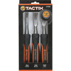Tactix Chisel Wood 3Pc Set-Long
