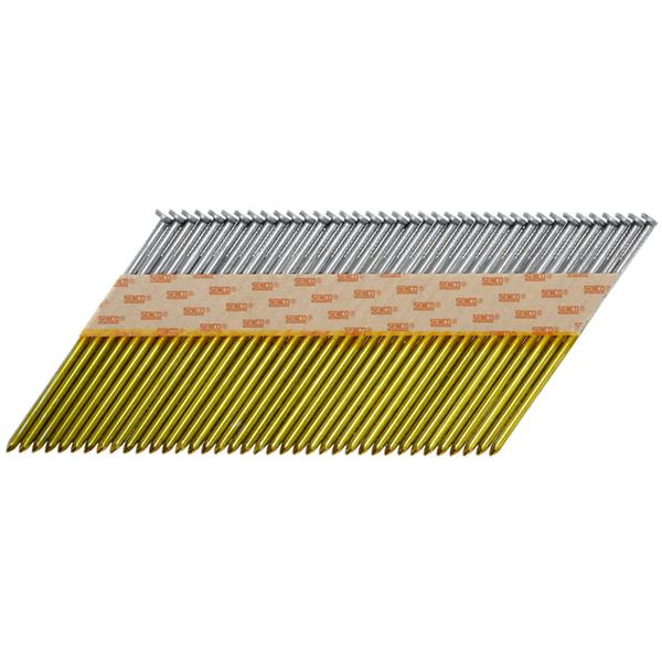 Senco 65mm x 2.87mm Galvanised Shank Collated Framing Nails (3000 Box)