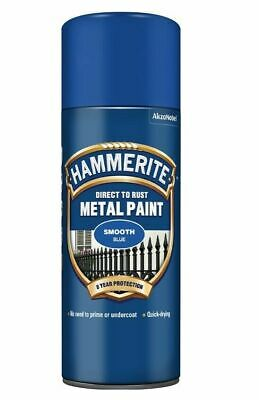 Hammerite Smooth 400ml Aerosol Blue
