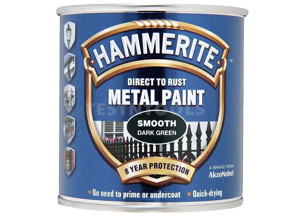 Hammerite Smooth 250ml Dark Green