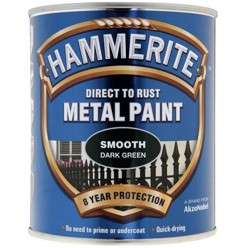 Hammerite Smooth 750ml Dark Green