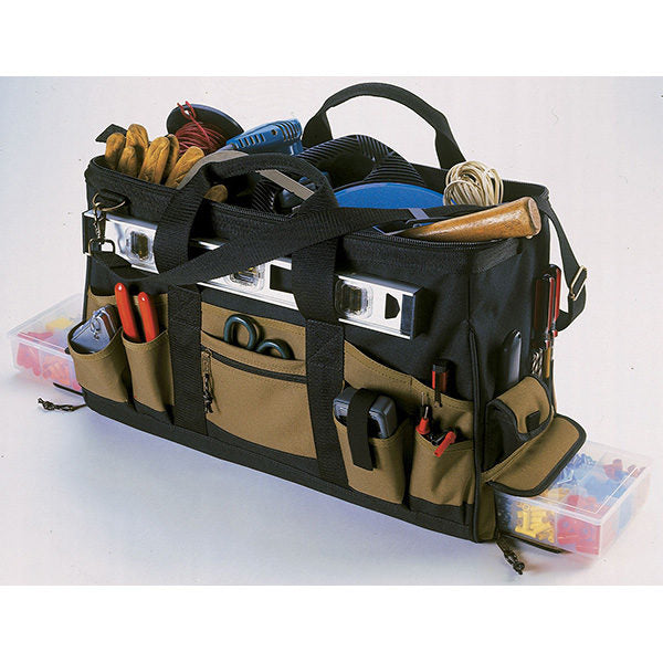 Kuny's 37 Pocket Double Bottom Tray Tote Bag