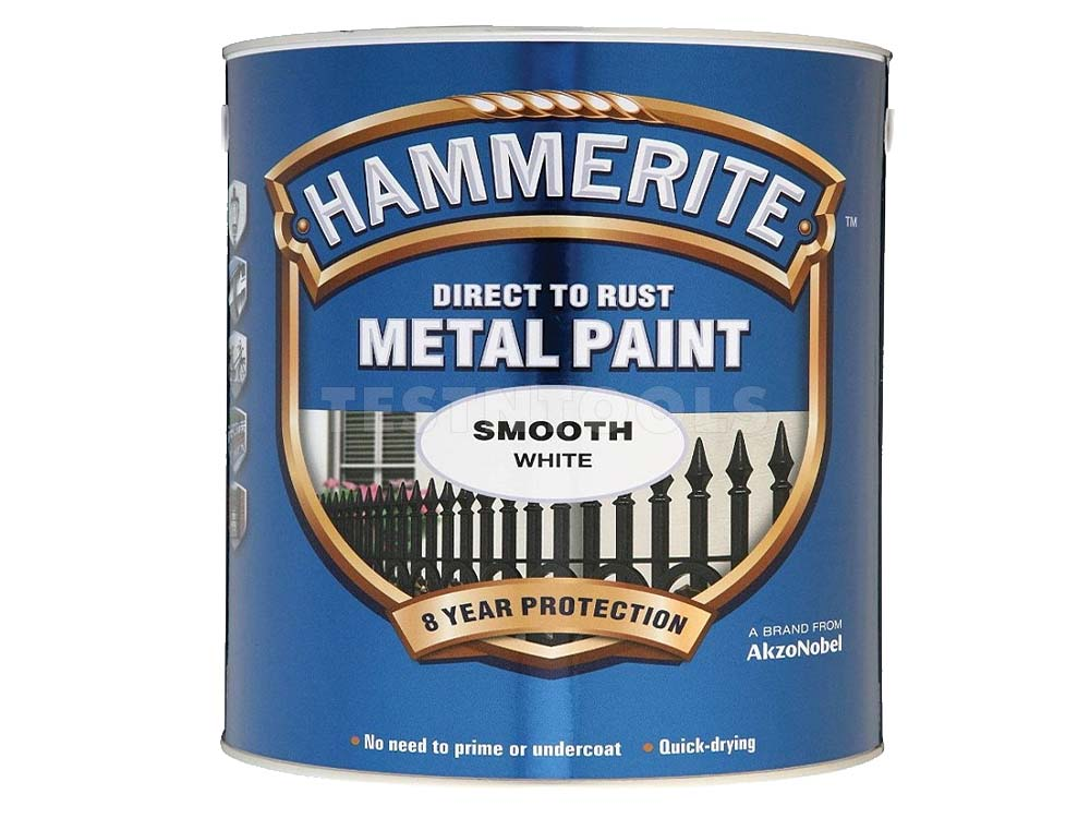 Hammerite Smooth 250ml White