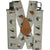 Kuny's Heavy Duty Elastic Suspenders Tan