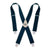 Kuny's Heavy Duty Elastic Suspenders Navy Blue