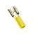 Champion YELLOW FEMALE PUSH-ON SPADE TERMINAL100PK