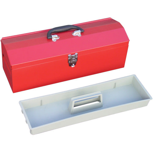 Big Red Tool Box with Tray 484 x 152 x 165mm