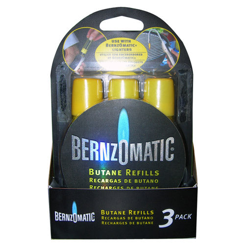 Benzomatic 19134 Butane Gas Refill 3/Pack 13.3ml (0.45oz)