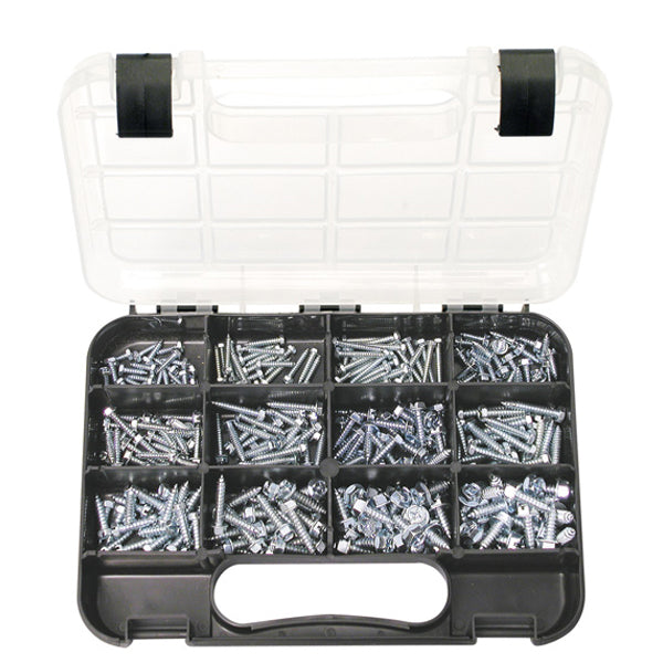 GJ GRAB KIT 300PC SELF-TAP.HEX HEAD ZINC