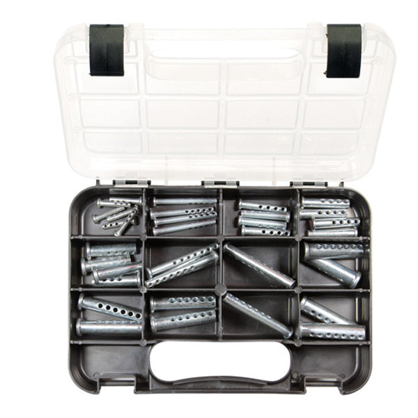 GJ GRAB KIT 38PC MULTI-HOLE CLEVIS PINS