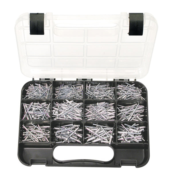 GJ GRAB KIT 605PC ALUMINIUM RIVETS