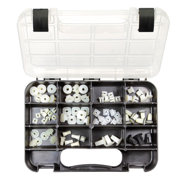 GJ GRAB KIT 70PC PLASTIC SCREW GROMMETS