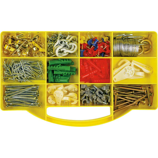 GJ KIT 360PC PIN, HOOK, NAIL WIRE & ANCHOR KIT
