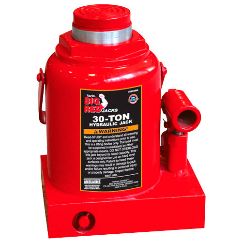 Big Red Bottle Jack 30 Ton
