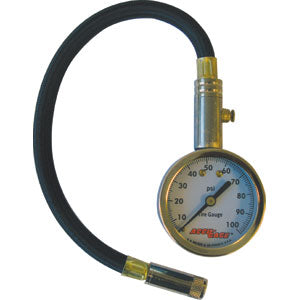 Strong Hand ACCU-GAGE? 11IN PRO 0-100PSI  STRAIGHT CHUCK