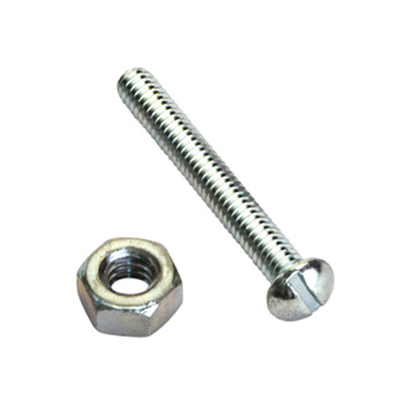 Champion 3/16IN X 3/4IN ANTI-THEFT (1-WAY) SCREWS & NUTS